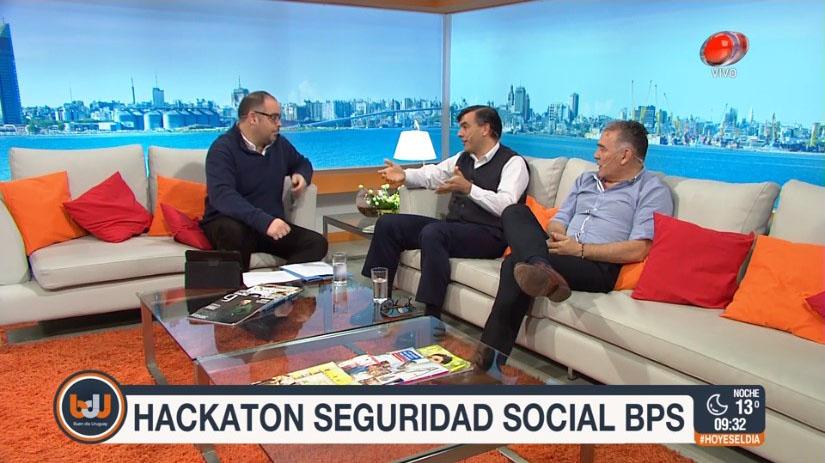 Christian Font, Leonardo Loureiro y Roque Villamil